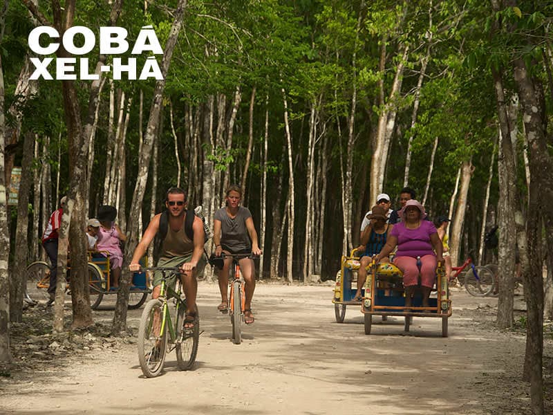 Coba Xel Ha_Bicycles